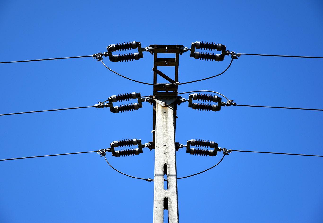 Sagging Power Lines